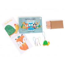 Moulin Roty Shrink Plastic Kit ANIMALS
