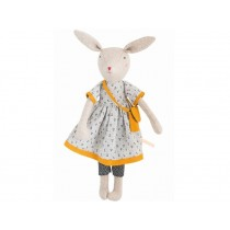 Moulin Roty Soft Toy Rabbit Mama Rose