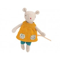 Moulin Roty Soft Toy Mouse Groseille