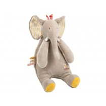 Moulin Roty cuddly toy elephant les Papoum