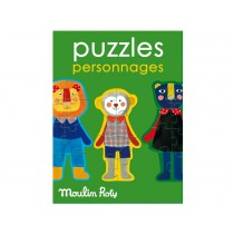 Moulin Roty puzzles personnages