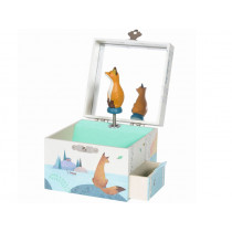 Moulin Roty Musical Jewelry Box FOX