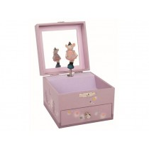 Moulin Roty: Musical and Jewelry Box - Mouse