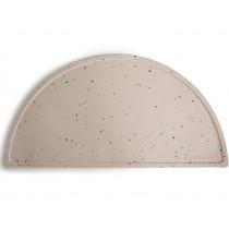 Mushie Silicone PLACE MAT Vanilla Confetti
