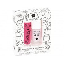 nailmatic kids Lip Gloss + Nail Polish Set FAIRYTALES