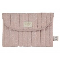 Nobodinoz Bagatelle Pouch White Bubble MISTY PINK