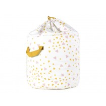 Nobodinoz Baobab Toy Bag SPARKS PINK HONEY small