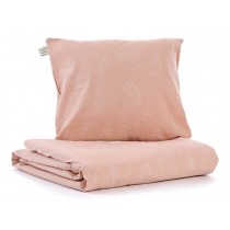 Nobodinoz Duvet Cover Himalaya White Bubble MISTY PINK