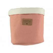 Nobodinoz Tango Storage Basket DOLCE VITA PINK medium