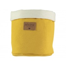 Nobodinoz Tango Storage Basket FARNIENTE YELLOW medium