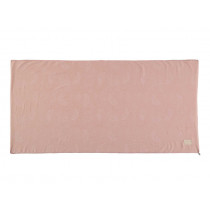 Nobodinoz Mattress ST BARTH white bubble/misty pink