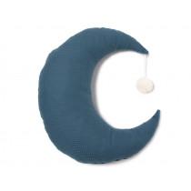Nobodinoz Moon Cushion PIERROT night blue