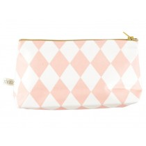 Nobodinoz Capri Pencil Case PINK DIAMONDS