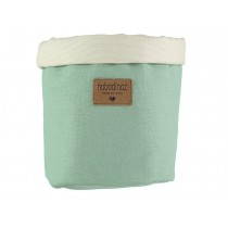 Nobodinoz Tango Storage Basket PROVENCE GREEN medium