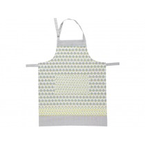 Overbeck apron Theresa grey