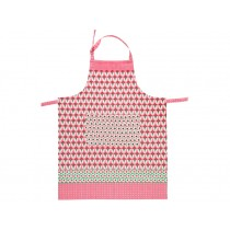 Overbeck apron Theresa pink