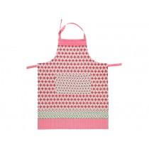 Overbeck apron Theresa pink