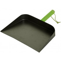 Dustpan with green handle by Overbeck & Friends