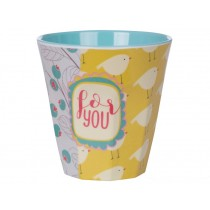 Overbeck and Friends Melamine cup COCO 2