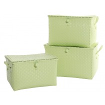 Overbeck toy box pastel mint