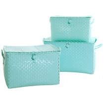 Overbeck toy box pastel turquoise
