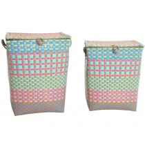 Overbeck laundry basket Grace tropical