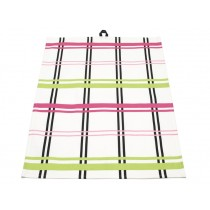 Colourful checked kitchen towel Alice by Pappelina