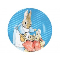 Peter Rabbit plate blue