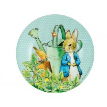 Peter Rabbit plate green