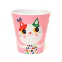 Helen Dardik melamine cup cat