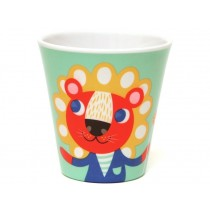 Helen Dardik melamine cup lion & tiger