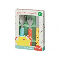 Kids Cutlery Set with Dots by Petit Jour