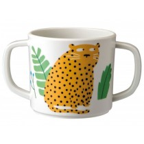 "Double-handled cup ""In the Jungle"" by Petit Jour"