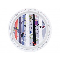 "Kids plate ""In the Forest"" with Bird by Petit Jour"