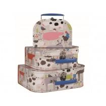Petit Jour Play Suitcase Set LA FERME