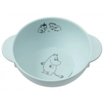Petit Jour Melamine Bowl with Handles MOOMINS blue