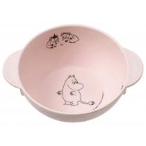Petit Jour Melamine Bowl with Handles MOOMINS pink