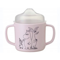 Petit Jour Sippy Cup MOOMINS pink