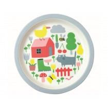 Petit Jour Melamine Plate COUNTRYSIDE