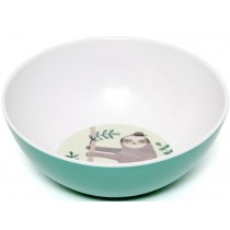 Petit Monkey Melamine Bowl SLOTH green