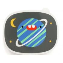Petit Monkey Lunchbox PLANET grey