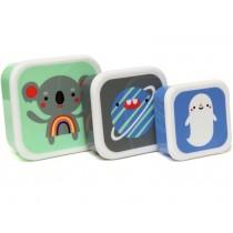 Petit Monkey Lunchbox Set KOALA & FRIENDS