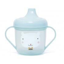 Petit Monkey Spout Cup BEAR blue