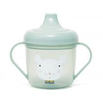 Petit Monkey Spout Cup MOUSE mint