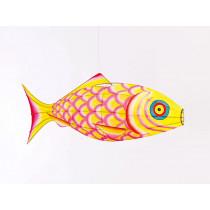 Petit Pan Lamp CARP FISH yellow S