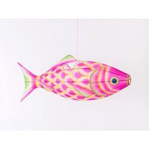 Petit Pan lamp FISH rose