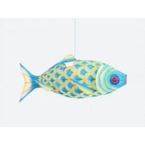Petit Pan Lamp CARP FISH turquoise S