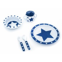 Pimpalou melamine set gift box star blue