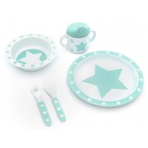 Pimpalou melamine set gift box star mint