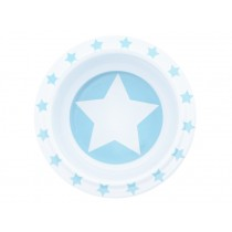 Pimpalou anti-slip bowl star light blue